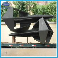 China Offshore 10T Flipper Delta Anchor With DNV ABS CCS BV NK Class wholesale