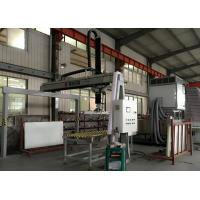 China Furniture Glass Production Line Glass Loading Machine With Servo Motor wholesale