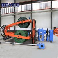 China Energy Saving Cable Manufacturing Machine Customized Color Easy Operation wholesale