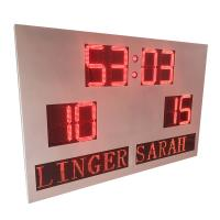 China Custom DIP Digit Indoor Outdoor Portable Scoreboard With Led Team Name wholesale