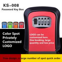 China Mechanical Decoration Combination Key Box 5 Color Optional With Cat Eye Screw on sale