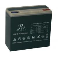 China 12V 20AH Rechargeable Sealed Lead Acid Battery For Electric Scooter / Electric Bicycle wholesale