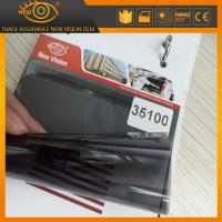 China High heat rejection 100% black 35% vlt nano ceramic car window solar tint film wholesale