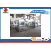 China Soft Drink /  Carbonated Drinks Filling Machine 9.5KW Large Capacity Adjustable Speed wholesale