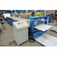 China Double Layer Roofing Sheet Roll Forming Machine Width 1200mm , 3 Phase wholesale