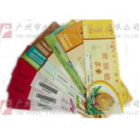 China Double Sided Secure Ticket Printing Highly Durable Create A Professional Image wholesale