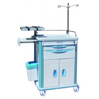Quality Emergency Medical Equipment Trolley BT-EY006 With ABS Plastic Top Board for sale