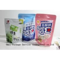 China Personal Care Stand Up Pouch Packaging For Jelly / Pet Food and Washing Powder wholesale
