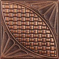 Heat Insulation Decorative 3D Board / 3D Leather Cladding Wall Panel , D-006