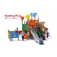 China Commercial Garden Play Equipment , Preschool Outdoor Play Equipment With Musical Panels wholesale