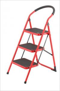 China Non Insulated 3 Rungs 0.9mm Steel Step Ladder wholesale