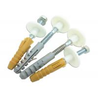 Buy cheap 50mm L Plastic Expansion Rubber Plug With Screw For Toilet Installation from wholesalers