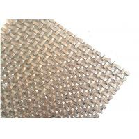 China Square Hole Crimped Woven Architectural Wire Mesh For Interior Partition wholesale