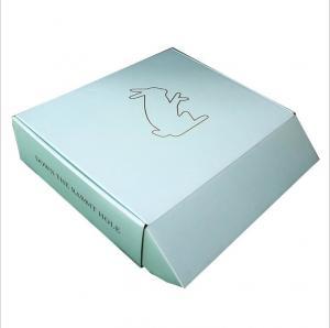 China Square UV Coating Stamping Foldable Toy Storage Box Gift Box Packaging Box wholesale