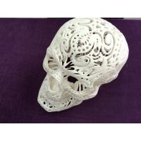 China White Skull 3D Printing Prototype Model ABS Material For Art Decotation wholesale
