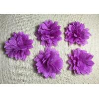 "China 2"" Small Pretty Daisy Handmade Fabric Flower Brooch Artificial Flower Flower Corsage Back Without Pin wholesale"