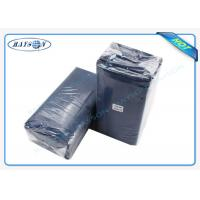 Quality Water Proof PE Coated Disposable Bed Sheet Size 80CM x 210CM For Massage wholesale