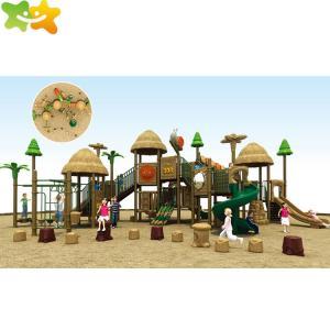 China 1340*880*510CM Backyard Kids LLDPE Outdoor Playground Slide wholesale