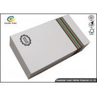 China Customized Paper White Cardboard Gift Boxes For Apparel Packaging Manufacture wholesale