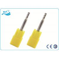China Grain Carbide Hard Milling End Mills Machining 50 - 100mm Overall Length wholesale