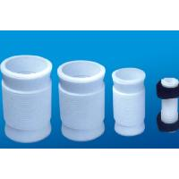 China White PTFE tube , 2.10g/cm³ PTFE Soft Joint / PTFE Material For Metal Tube wholesale
