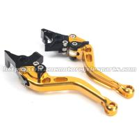 China CNC Finished Motorcycle Brake Clutch Lever CBR600RR Shorty Levers wholesale