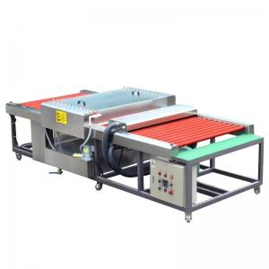 China 9Kw 3.5m/Min 1200mm Horizontal  Industrial Glass Washer wholesale