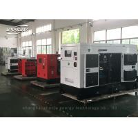 Quality Water Cooled Diesel Canopy Generator Set Six Cylinder For Industrial wholesale