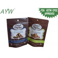 1.5oz Doypack Snack Packing Zipper Pouch Chocolate Bar With Nuts Dried Fruits