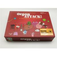 China Intellectual Taste Board Game Card Game organ attack Game for Family Friend Travel Playing Card wholesale