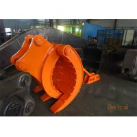 China Mechanical Type Heavy Duty Rock Grapples For Excavators Hitachi ZX330 wholesale