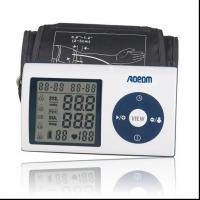 China LCD Portable Upper Arm Blood Pressure Monitors with Alarm Clock on sale