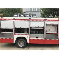 China Red Painting Light Fire Truck Generator Model STC-50 510N•M Max Torque wholesale