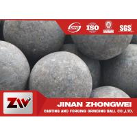 Quality High hardness forged steel grinding media balls / steel mill media wholesale