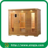 China Healthy Wooden Far Infrared Sauna House(ISR-12) on sale