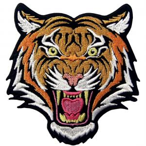 China 50% Embroidery Roaring Animal Motorcycle Biker Patch For Jacket wholesale