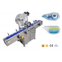 China Box Labeling Flat Surface Automatic Label Applicator With Collection Work Table wholesale