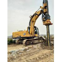 Quality Rotary Drilling Equipment / Rotary Piling Rig Modules Type Black and Yellow wholesale
