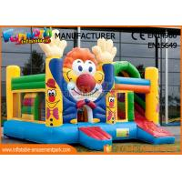 Buy cheap Customized Commercial Inflatable Bouncer Slide Cartoon Printing For Outdoor from wholesalers
