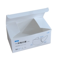 China Glossy Lamination KN95 Recycled Packaging Boxes wholesale