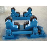 Quality VFD Adjustable Self Aligning Welding Rotators 5T With PU Wheels for Boiler for sale