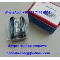 China LBCT20A - 2LS Open Type Shaft Support Busing Linear Ball Bearing 20x32x45mm wholesale