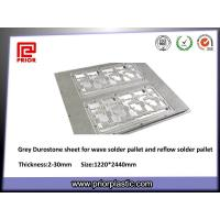 China Optical Grade Grey Durostone Sheet for Solder Pallet, 6mm Thickness wholesale