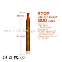 Quality Etop Hookah Disposable Eletronic Cigarette 2.2ml 800 Puffs for sale