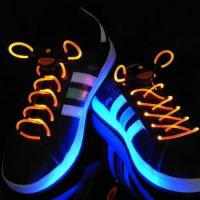 Quality Glowing Led flash shoelaces for sale