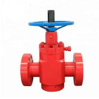 Buy cheap Durable Oil Wellhead Equipment High Pressure Flat Gate Valve For Well Drilling from wholesalers