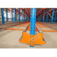 China High Density Storage Racks Radio Shuttle Racking Adjustable Baseplate Type 50 Meters Per Min wholesale