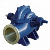China Easy Installation Double Suction Centrifugal Pump , Energy Saving High Capacity Centrifugal Pumps wholesale