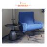China Creative Modern Lobby Furniture Swivel Leisure Coffee Chair wholesale