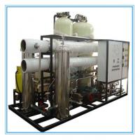 China smart movible seawater desalination reverse osmosis ro water purifier system for industiral drinking on sale